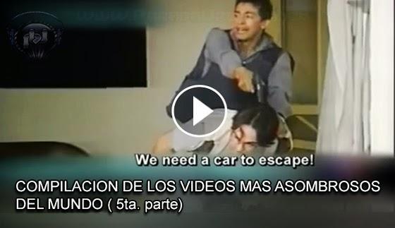 VIDEO INSOLITO -Compilación de videos mas asombroso e impactante  del mundo (5ta. parte)