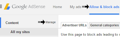 manage adsense account