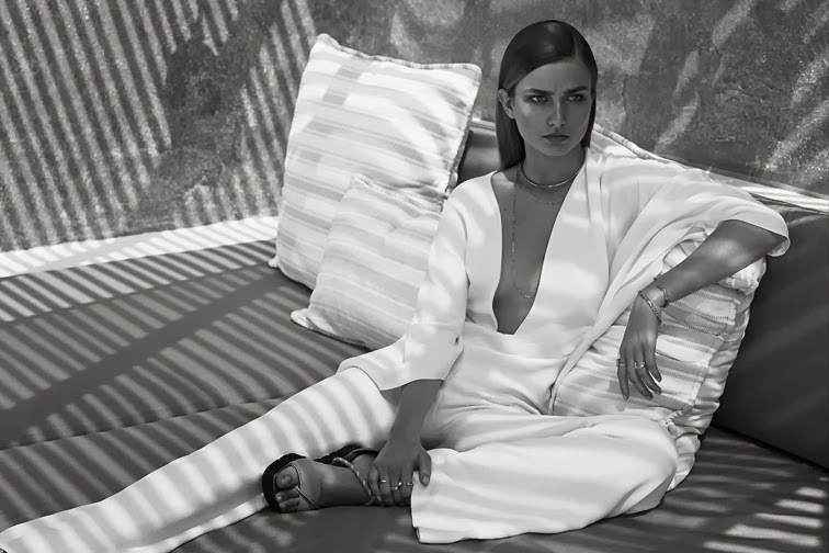 Andreea Diacony for WSJ photographed by Josh Olins, styled by Claire Richardson