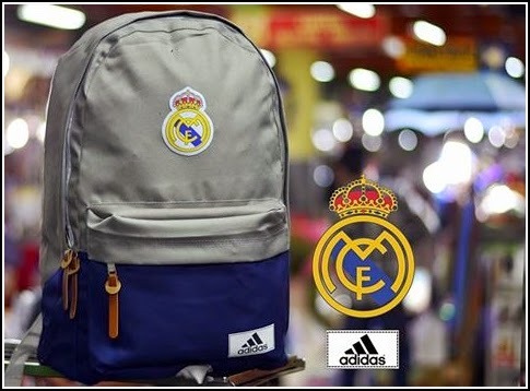 New Backpack atau Tas Bola Type D Real Madrid