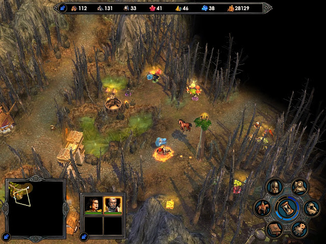 Heroes of Might and Magic 5 - Map Screenshot