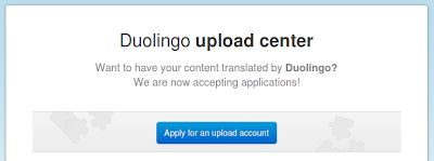 Duolingo Upload Center