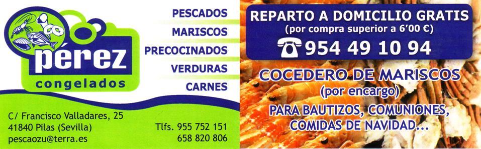 Cocedero de Mariscos Congelados Perez.