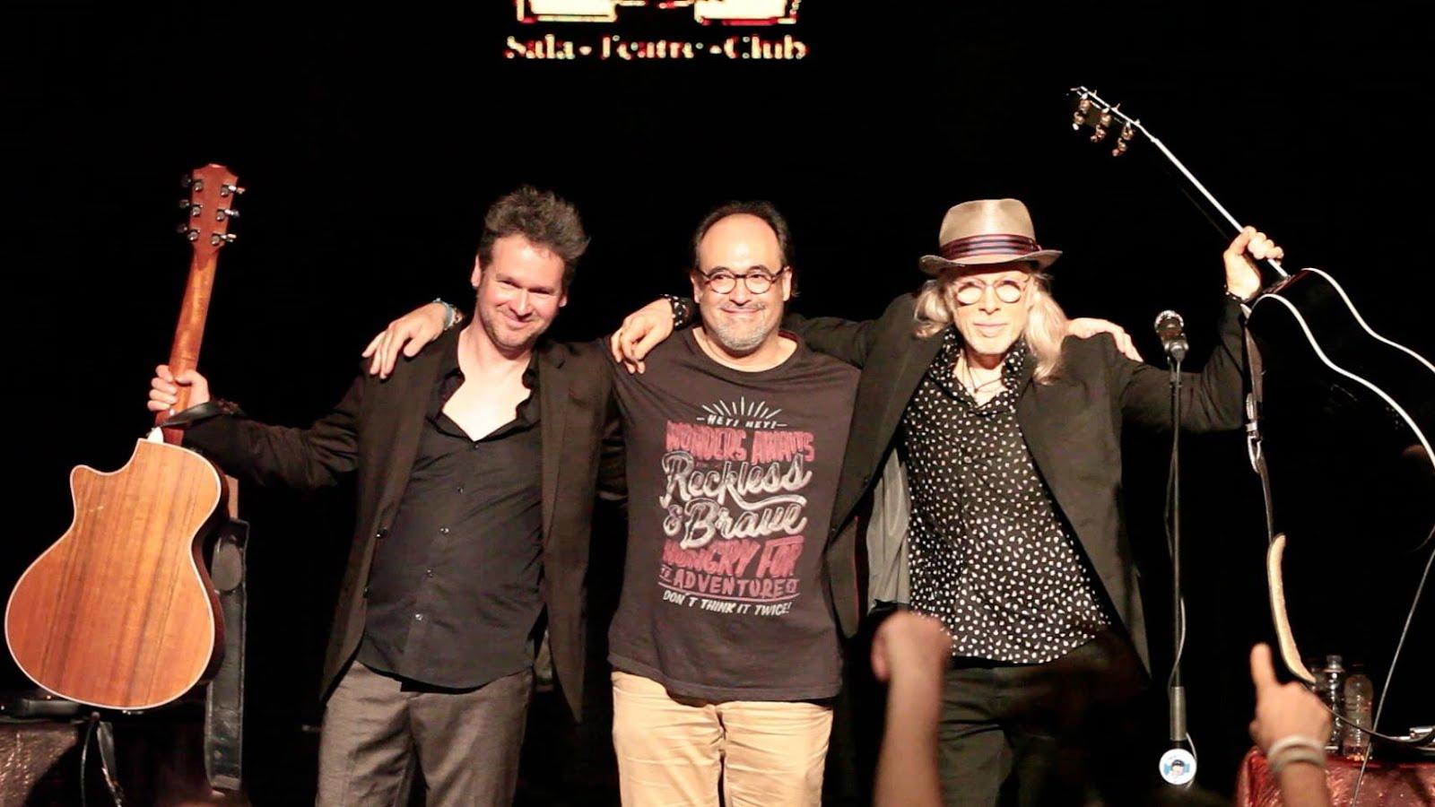 Amb Elliott Murphy i Olivier Durand