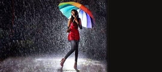 doa ketika  turun hujan dan doa setelah selesai hujan