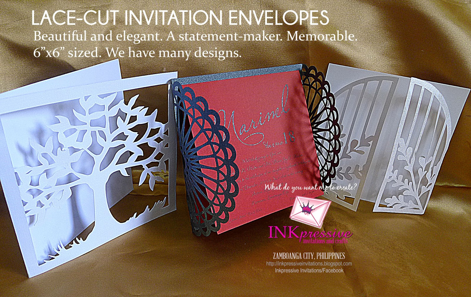 Intricate Cut Envelopes for Invitations | WEDDING INVITATIONS