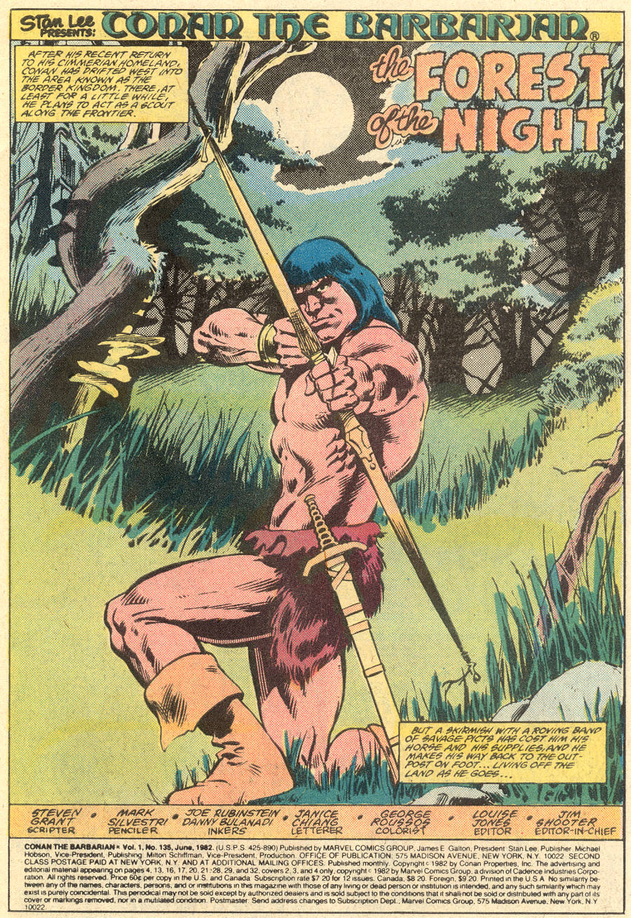Conan the Barbarian (1970) Issue #135 #147 - English 2