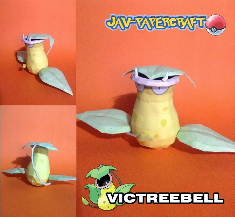 Victreebel Paper Model