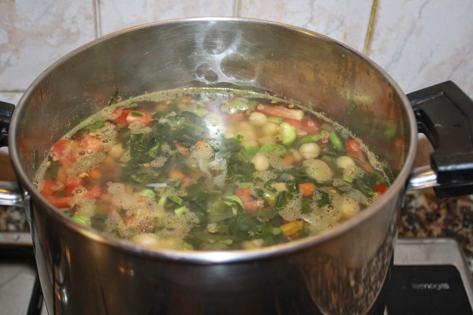 come fare zuppa di verdure