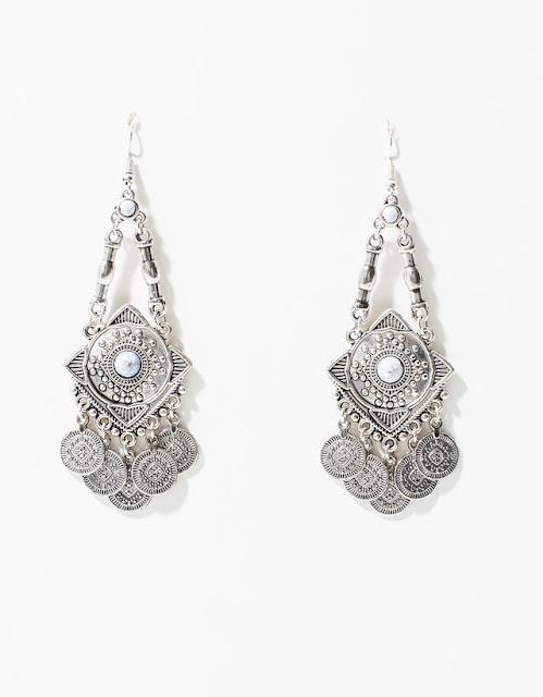 Brincos étnicos boho da Berska bijuteria coleção 2015