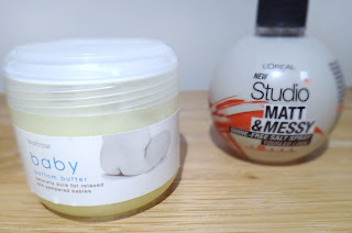 Supermarket must have skincare, Waitrose Baby Bottom Butter, Loreal Matt and Messy