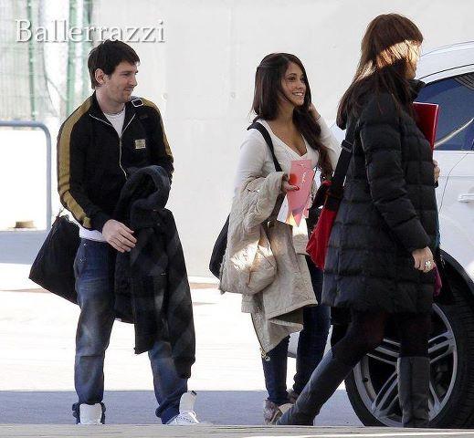 Lionel Messi And Antonella Roccuzzo 2012 World Of Sports: Lione...