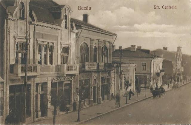 Strada Centrala din Bacaul vechi