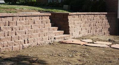 Para levantar un muro exterior