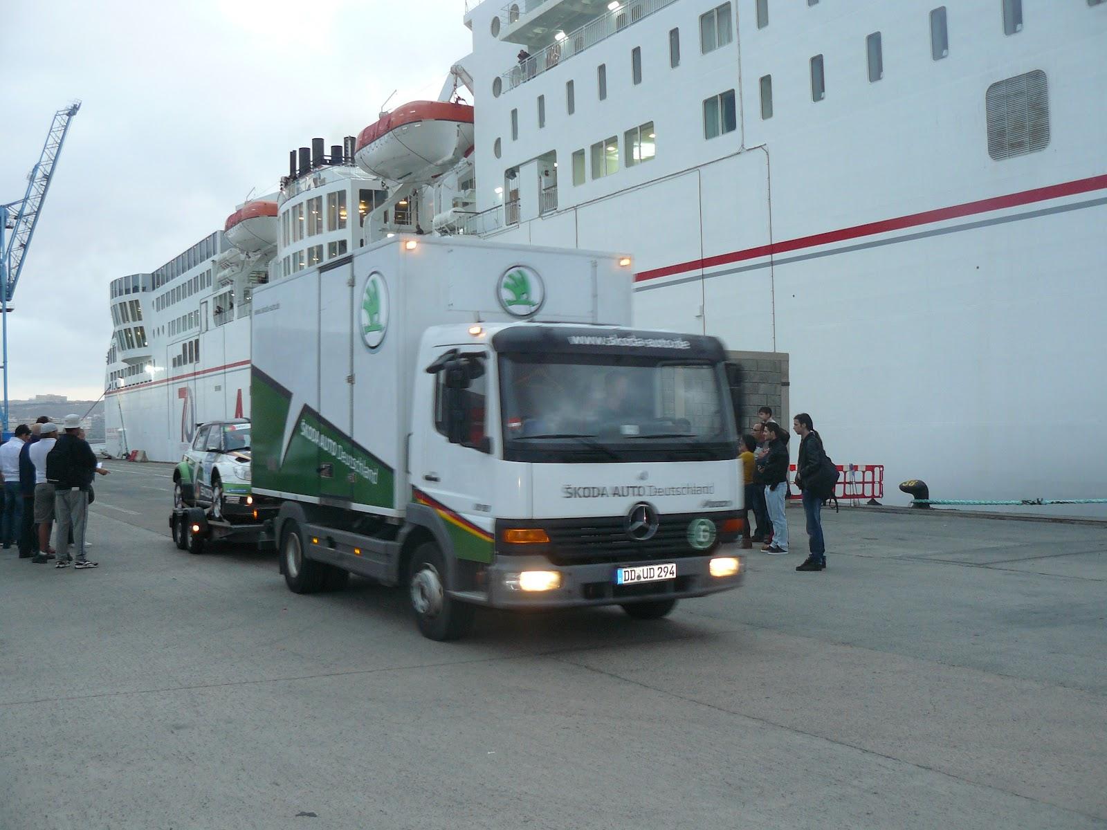 Navieraarmasblog naviera armas transportista oficial del 36 rally islas canarias - Transporte entre islas canarias ...