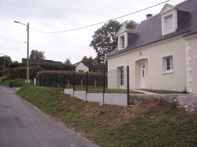 Cloture Facade Maison