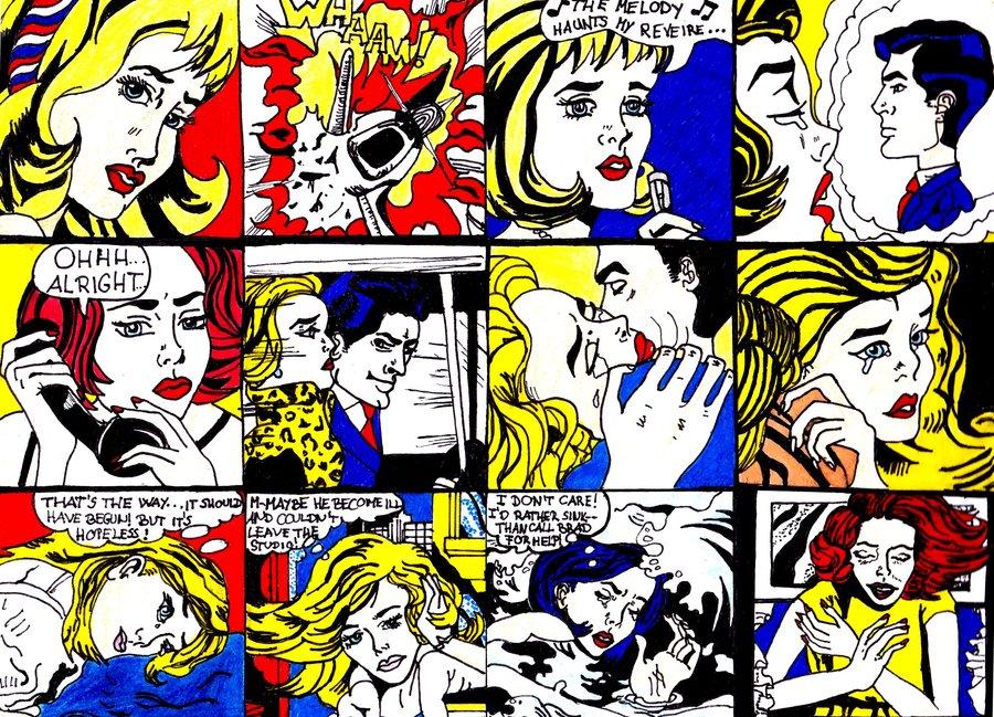 Arte en el aula roy lichtenstein 1923 1997 - Pop art roy lichtenstein obras ...