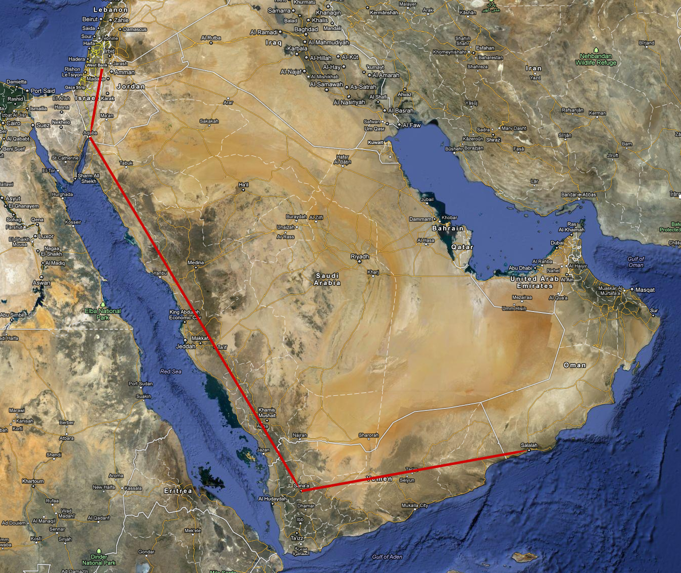 Picture Of Diagram Google World Map Middle East Download Diagram - Us embassy attacks map