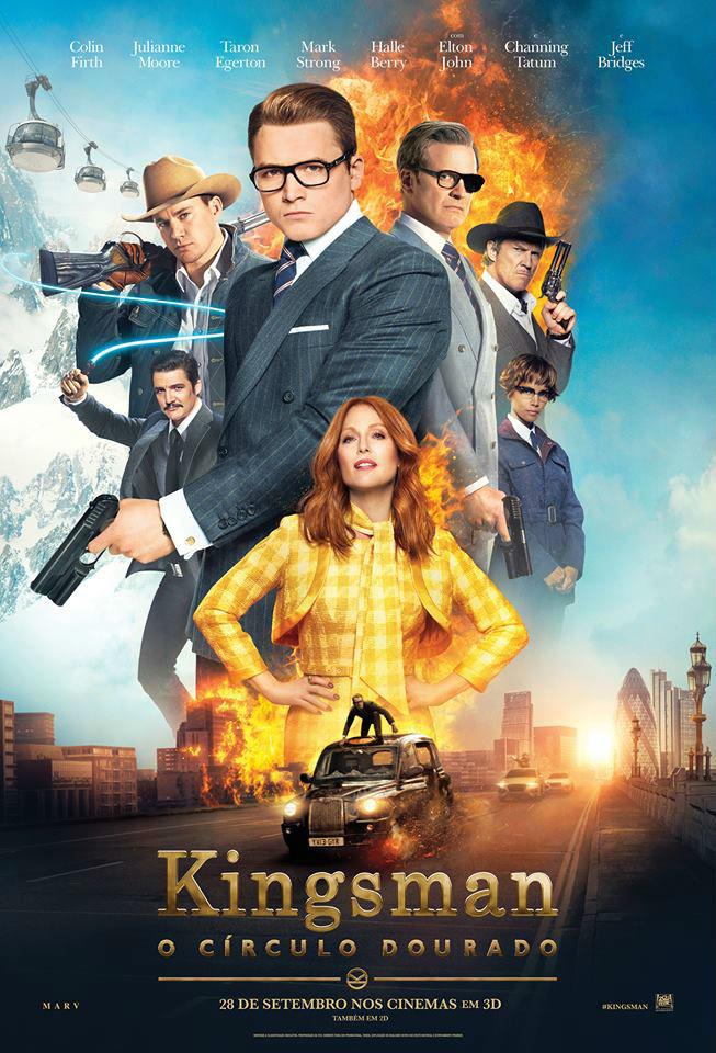 Filme Poster Kingsman: O Círculo Dourado