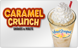 Free Hardees Caramel Crunch Coupons