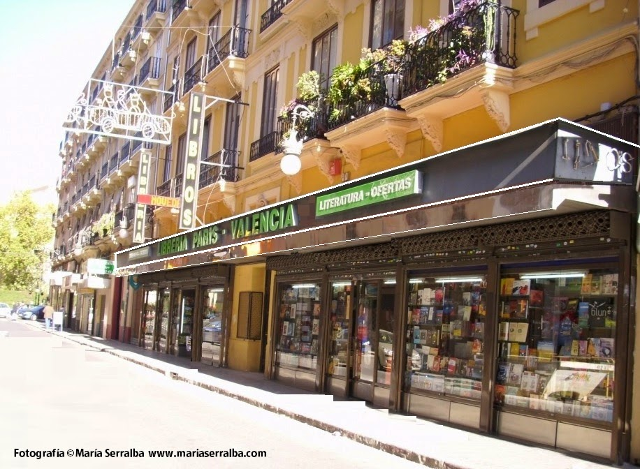 El Blog de María Serralba - Librería París-Valencia (Valencia)