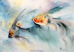 Les aquarelles de Violette VERGELY