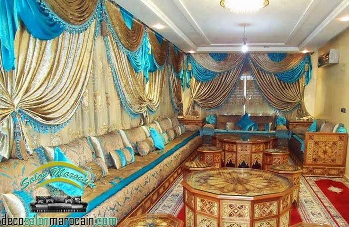Salon marocain jawhara