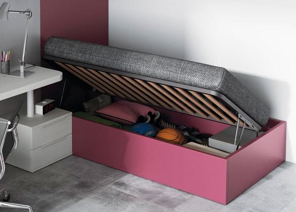 Cuartos juveniles para ni os y ni as for Dormitorio matrimonio cama canape