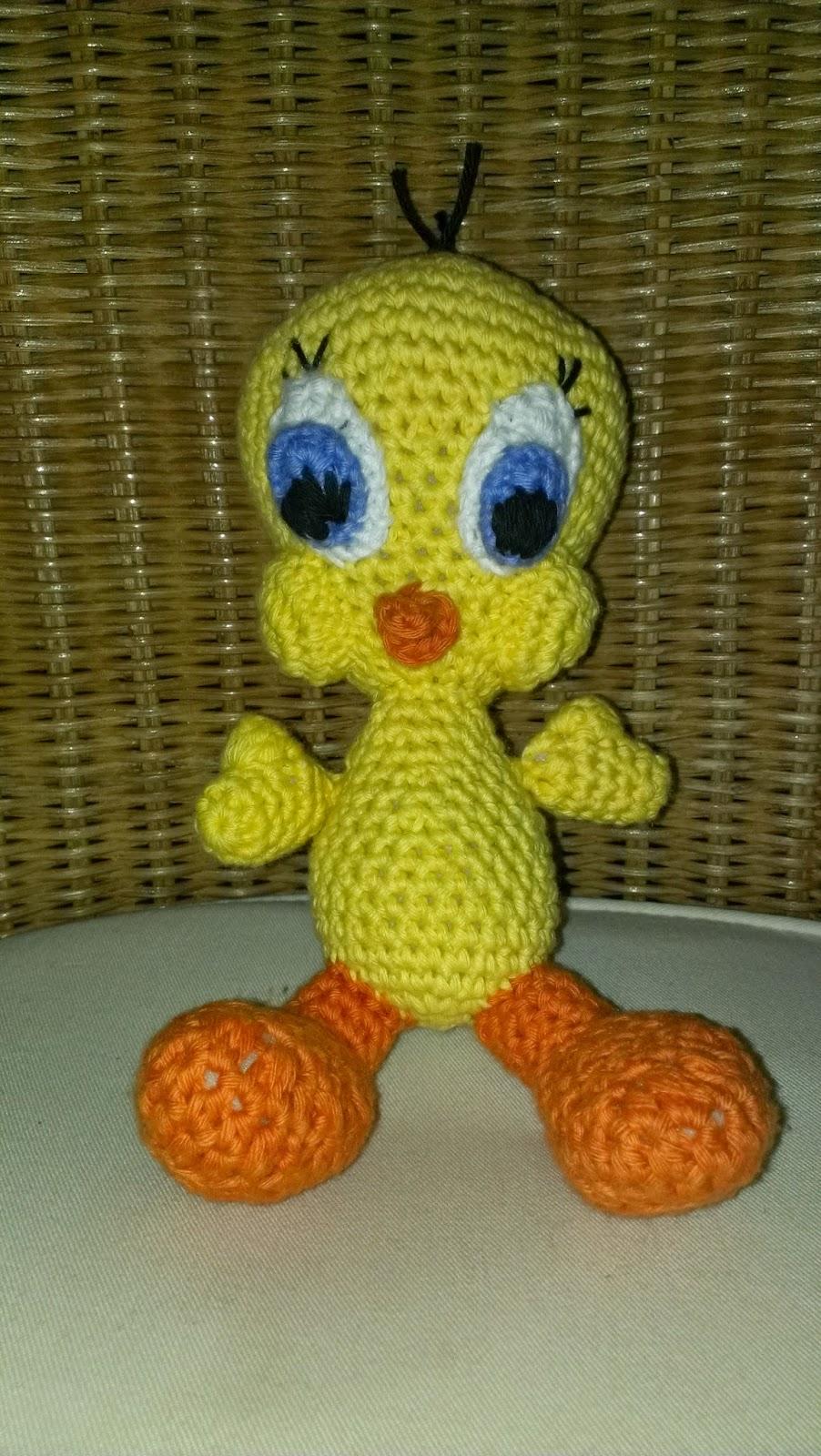 Amigurumi Tweety Yapilisi : Wundervolle Amigurumi Welt: Looney Tunes Part I - Tweety