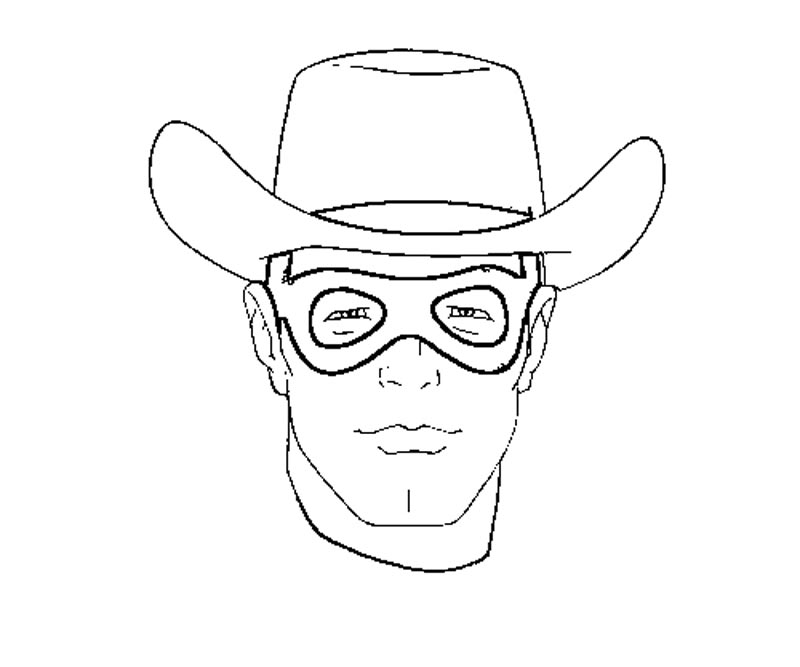 Lone Ranger Coloring Pages 3 The Lone Ranger Coloring