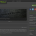 Download Bright Black Blogger Template