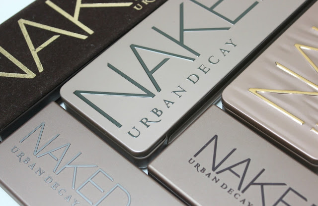 A picture of Urban Decay Naked Eyeshadow Palettes