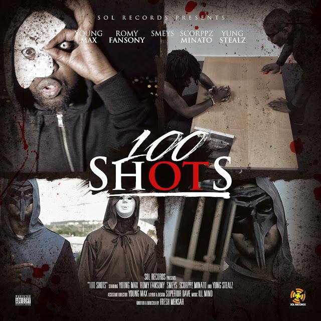 """NOVO VIDEO Young Max """"100 Shots"""""""