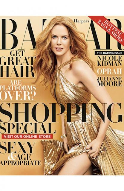 Nicole Kidman, Tom Cruise, Harpers Bazaar,