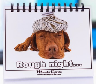 Moody Cards - Rough Night . . .