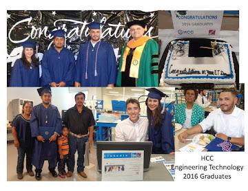 Congratulations 2016 Engineering Technology Graduates