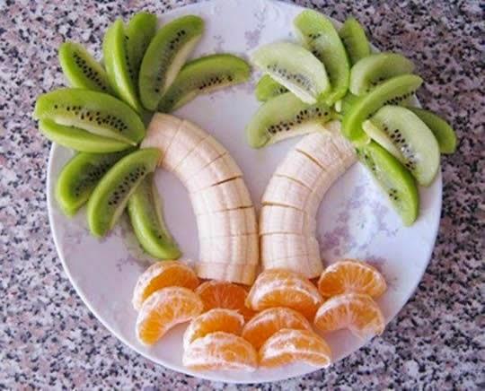 ===El arte comestible=== Arte-en-comida-con-frutas