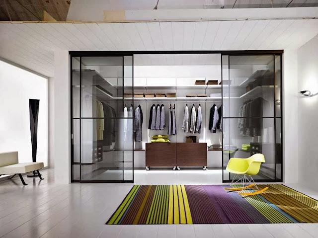 in wall interior sliding door ideas