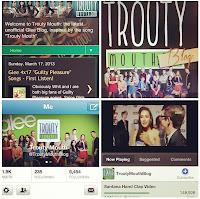 Troutymouth.com Glee Fan Site Accomplishments