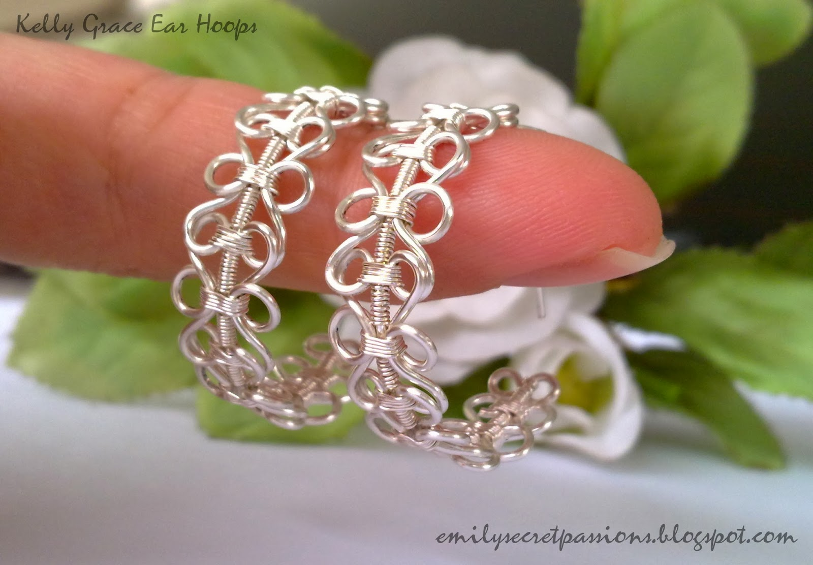 Emily Secret Passions: Handmade Wire Jewelry ~ Wire Wrapped Kelly ...