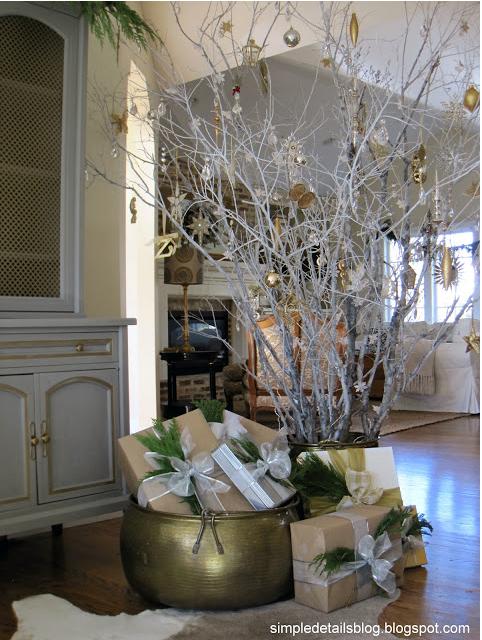 Branch Christmas Tree christmas tree inspiration | honey we're home
