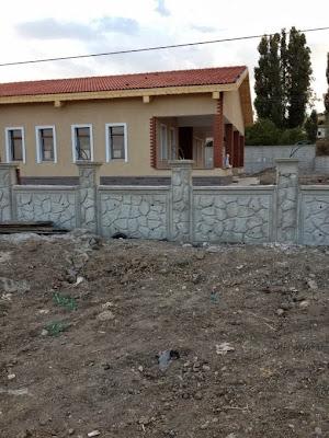 Bahçe duvarı ve beton duvar yapımı çayyolunda bahçe duvarı