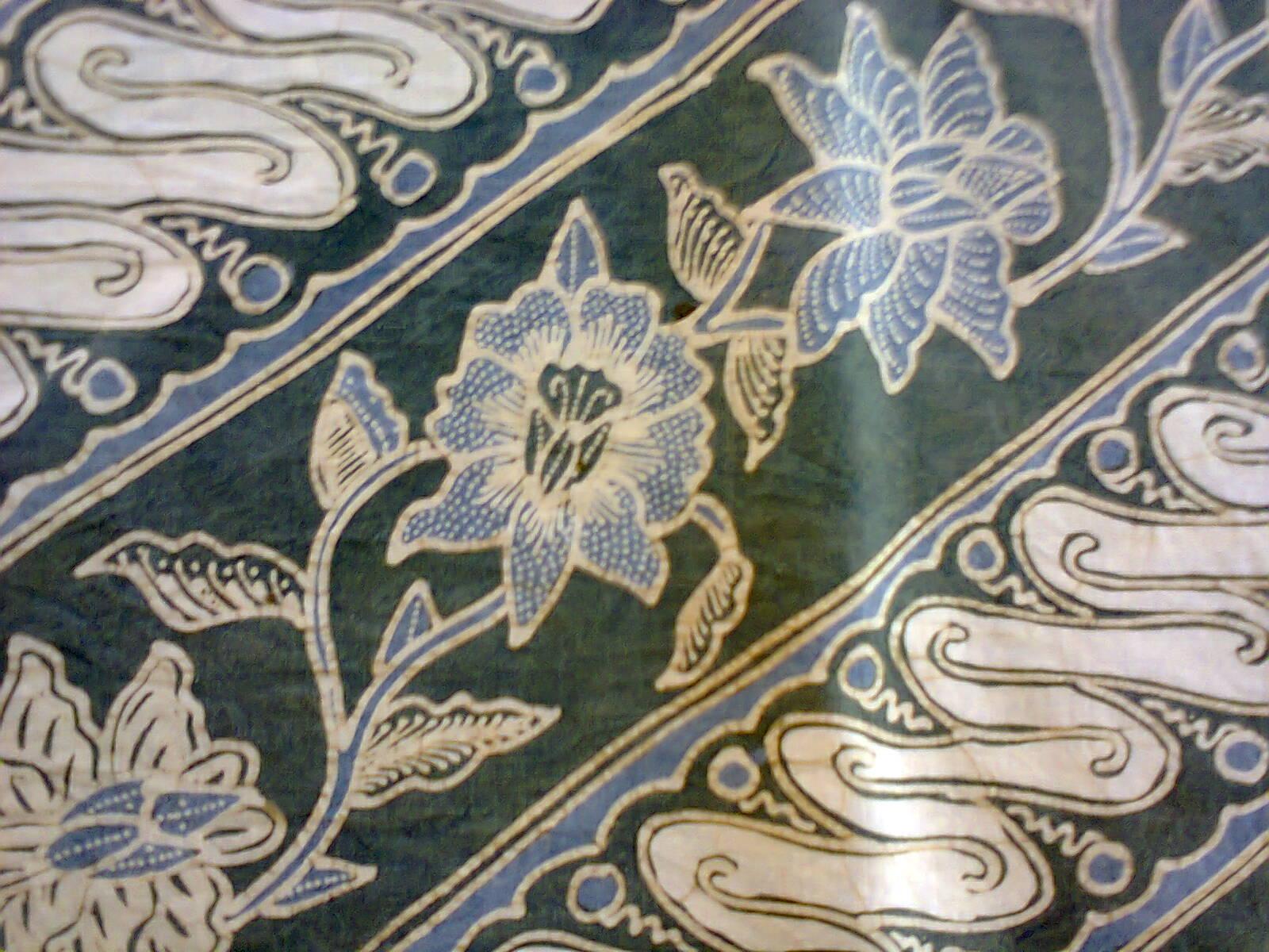 Motif Terbaru Batik Tulis Warna Alam Kebon Indah