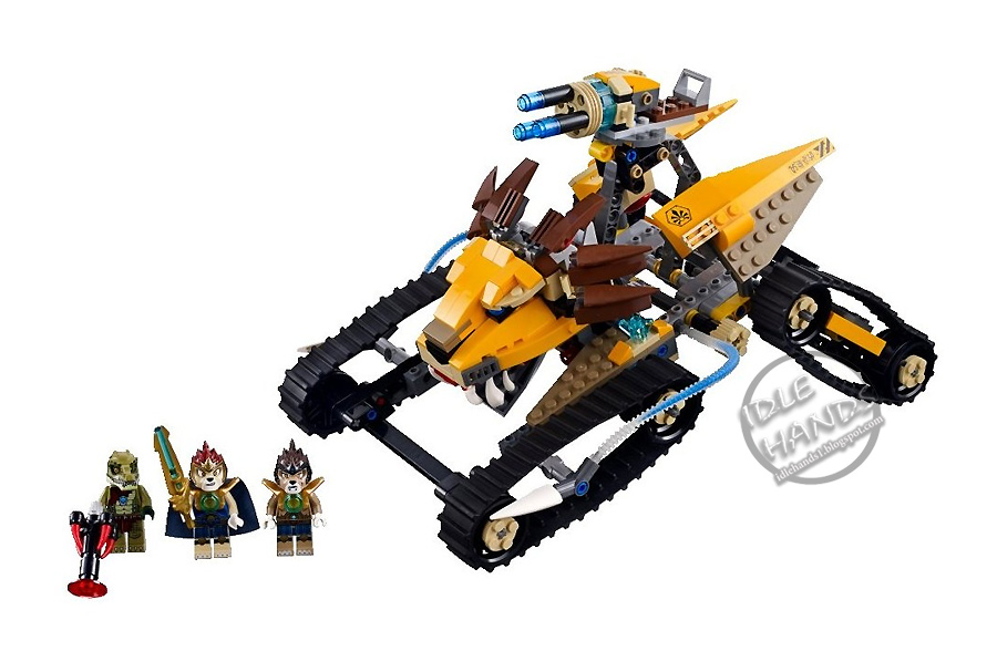 idle hands lego legends of chima