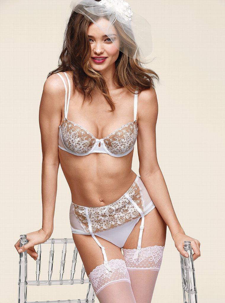 Miranda Kerr for Victoria's Secret Bride Collection March ... Miranda Kerr Collection