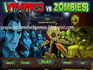Vampires vs zombies game free download