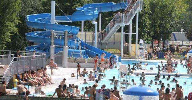 La piscine ext rieure de w gimont li ge for Chaudfontaine piscine