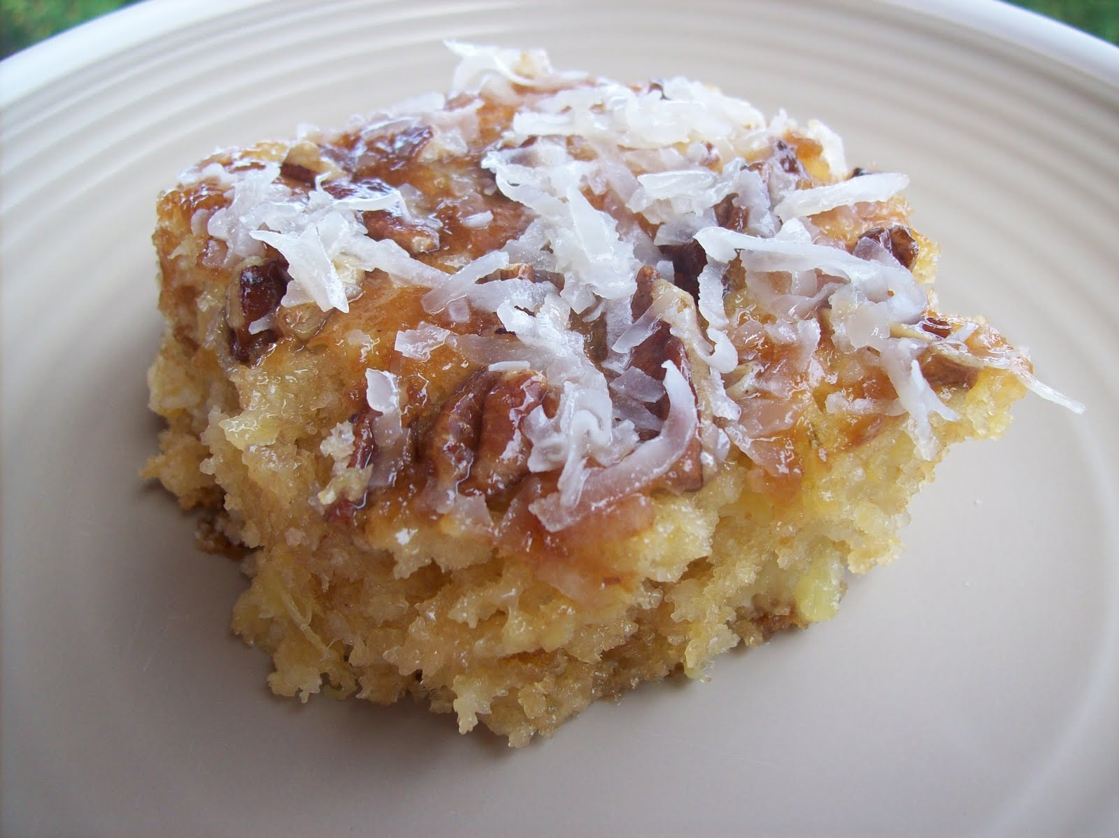Pineapple coconut cake recipe coconut milk