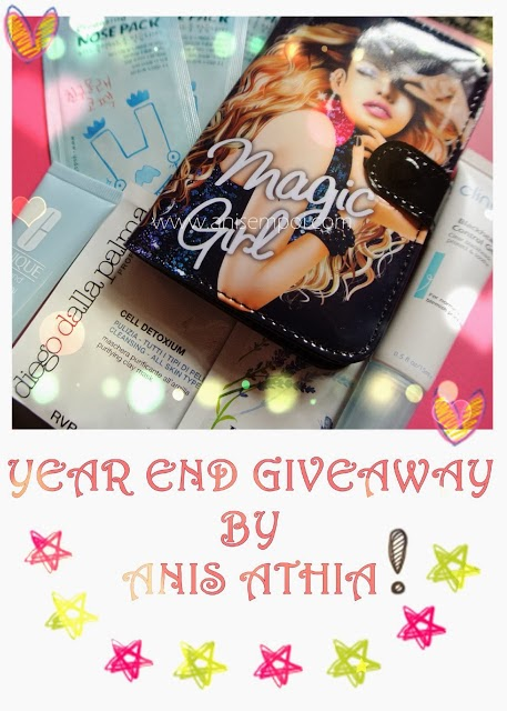 Year End Giveaway By Anis Athia