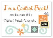 I'm a Control Freak!